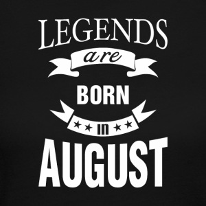 Legends are born in August - Women's Long Sleeve Jersey T-Shirt
