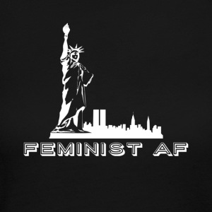 Feminist AF - Women's Long Sleeve Jersey T-Shirt