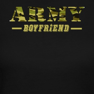 Army Boyfriend - Proud Army Boyfriend T-Shirt - Women's Long Sleeve Jersey T-Shirt