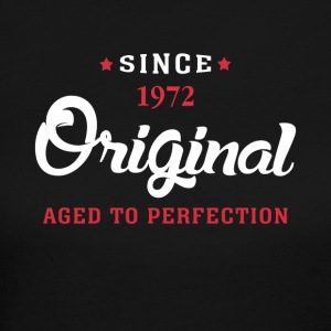 Since 1972 Original Aged To Perfection - Women's Long Sleeve Jersey T-Shirt