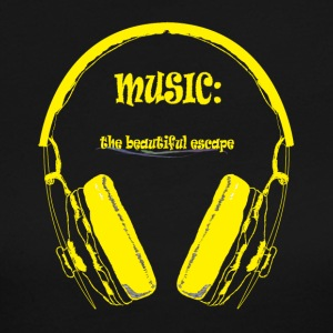 Music - The beautiful escape - Women's Long Sleeve Jersey T-Shirt