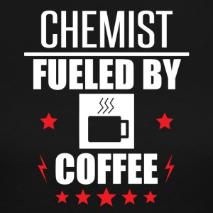 Chemist Fueled By Coffee - Women's Long Sleeve Jersey T-Shirt