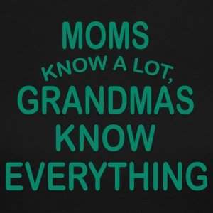 grandmas know everything - Women's Long Sleeve Jersey T-Shirt