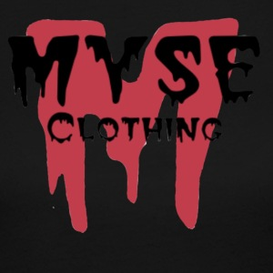 MYSE clothing logo - red - Women's Long Sleeve Jersey T-Shirt