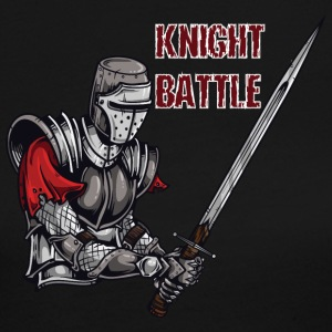 KNIGHT BATTLE - Women's Long Sleeve Jersey T-Shirt
