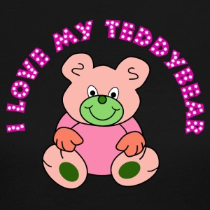 I love my Teddybear / Teddy bear - Women's Long Sleeve Jersey T-Shirt
