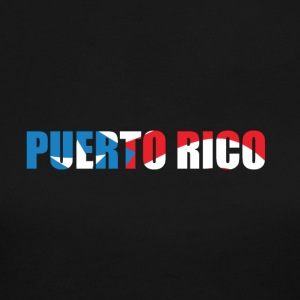 country Puerto Rico - Women's Long Sleeve Jersey T-Shirt