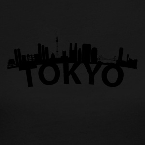 Arc Skyline Of Tokyo Japan - Women's Long Sleeve Jersey T-Shirt