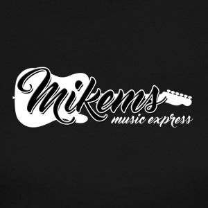 Mikems Music Express Logo - Women's Long Sleeve Jersey T-Shirt