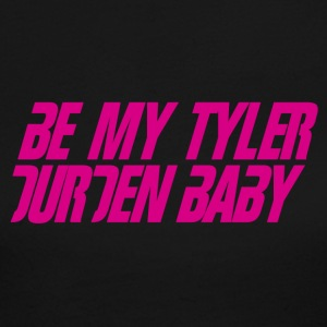 Be My Tyler Durden Baby - Women's Long Sleeve Jersey T-Shirt