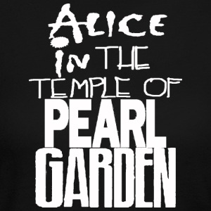 Alice in The Temple Of Pearl Garden - Women's Long Sleeve Jersey T-Shirt