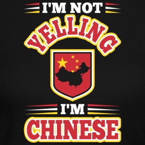 Im Not Yelling Im Chinese - Women's Long Sleeve Jersey T-Shirt
