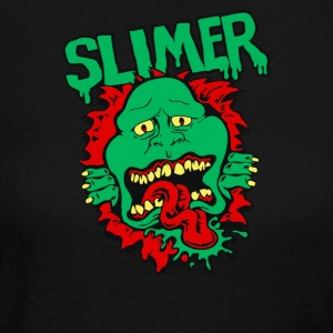 Ghost Slime - Women's Long Sleeve Jersey T-Shirt