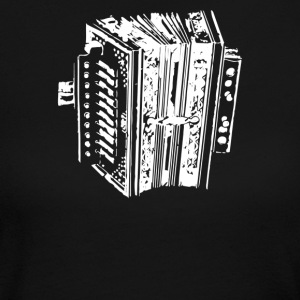 Accordion Instrument - Women's Long Sleeve Jersey T-Shirt