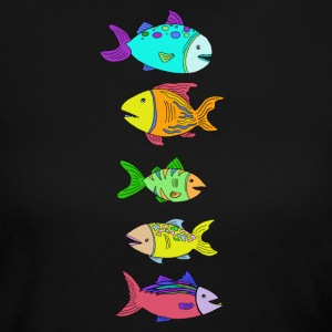 5 Fish - Women's Long Sleeve Jersey T-Shirt
