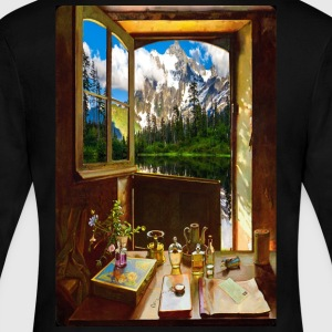 Door 6 - Women's Long Sleeve Jersey T-Shirt