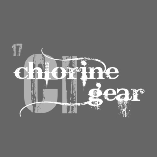 Chlorine Gear Textual with Periodic backdrop - Women's Long Sleeve Jersey T-Shirt