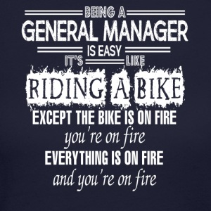 BEING A GENERAL MANAGER IS EASY - Women's Long Sleeve Jersey T-Shirt