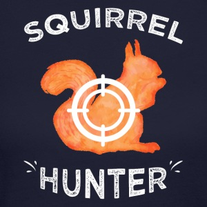 Squirrel hunter - Women's Long Sleeve Jersey T-Shirt