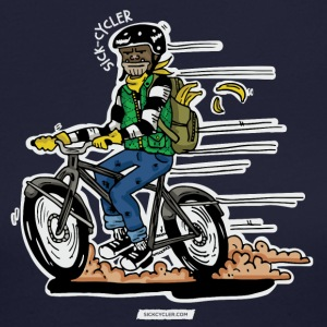Ape Shit Biker Tee - Women's Long Sleeve Jersey T-Shirt