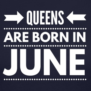 Queens Born June - Women's Long Sleeve Jersey T-Shirt