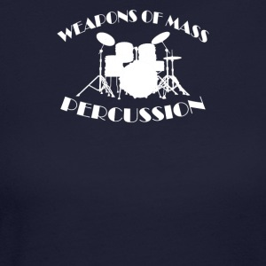 Weapons Of Mass Percussion - Women's Long Sleeve Jersey T-Shirt