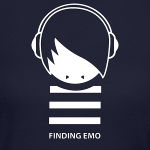 Finding Emo - Women's Long Sleeve Jersey T-Shirt