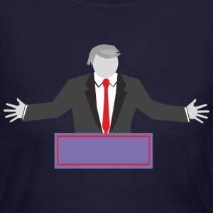 Donald Trump - Women's Long Sleeve Jersey T-Shirt