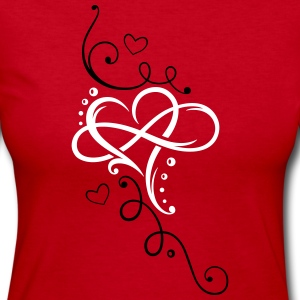 Heart and infinity - Women's Long Sleeve Jersey T-Shirt