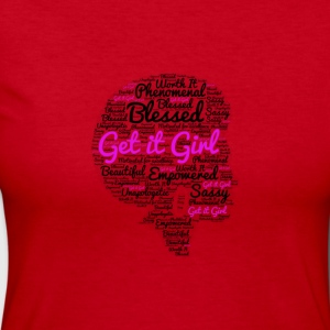 Get it and be blessed - Women's Long Sleeve Jersey T-Shirt