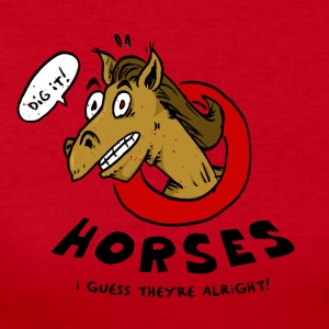 Horses Are Alright, I Guess - Women's Long Sleeve Jersey T-Shirt