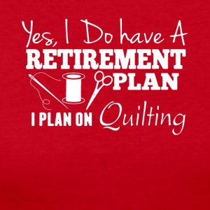 Plan On Quilting Shirt - Women's Long Sleeve Jersey T-Shirt