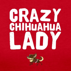 Crazy chihuahua Lady - Women's Long Sleeve Jersey T-Shirt