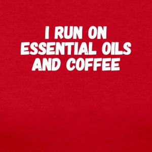 I run on essential oils and coffee - Women's Long Sleeve Jersey T-Shirt