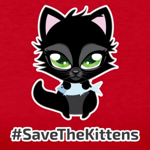 #SaveTheKittens - Women's Long Sleeve Jersey T-Shirt
