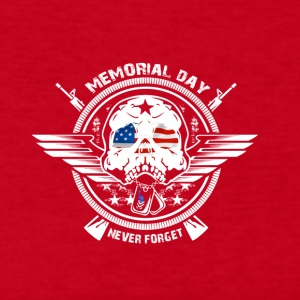 USA Memorial Day Never Forget - Women's Long Sleeve Jersey T-Shirt