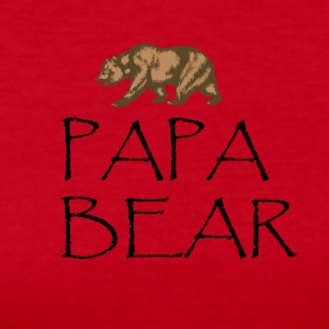 Papa Bear Shirt - Women's Long Sleeve Jersey T-Shirt