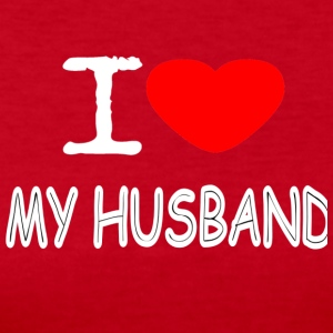 I LOVE MY HUSBAND - Women's Long Sleeve Jersey T-Shirt