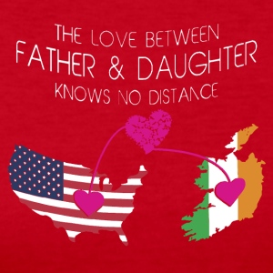 The Love Between Father And Daughter - Women's Long Sleeve Jersey T-Shirt