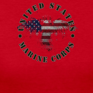 USA Marine Corps - Women's Long Sleeve Jersey T-Shirt