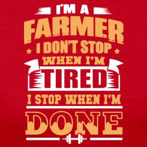 Farmer Tee Shirts - Women's Long Sleeve Jersey T-Shirt