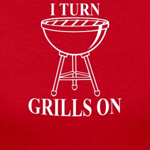 Dad Grilling Bbq - Women's Long Sleeve Jersey T-Shirt