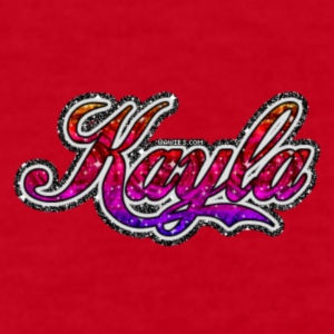Kayla logo - Women's Long Sleeve Jersey T-Shirt