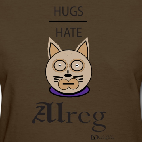 Alreg Adventure Cat Hugs over Hate - Women's T-Shirt