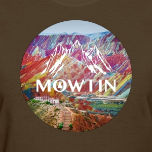 Rainbow_MOWTIN_Design_without_Background - Women's T-Shirt