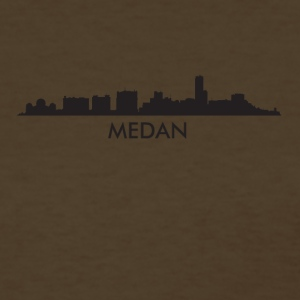 Medan Indonesia Skyline - Women's T-Shirt