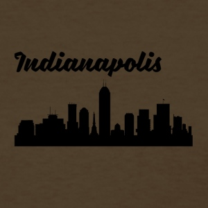 Indianapolis IN Skyline - Women's T-Shirt