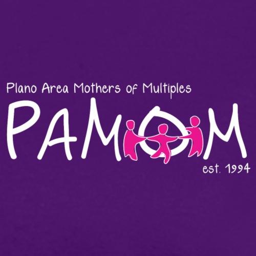PAMOM White Logo - Women's T-Shirt