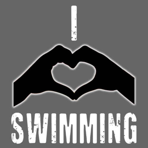 I heart swimming - Women's T-Shirt