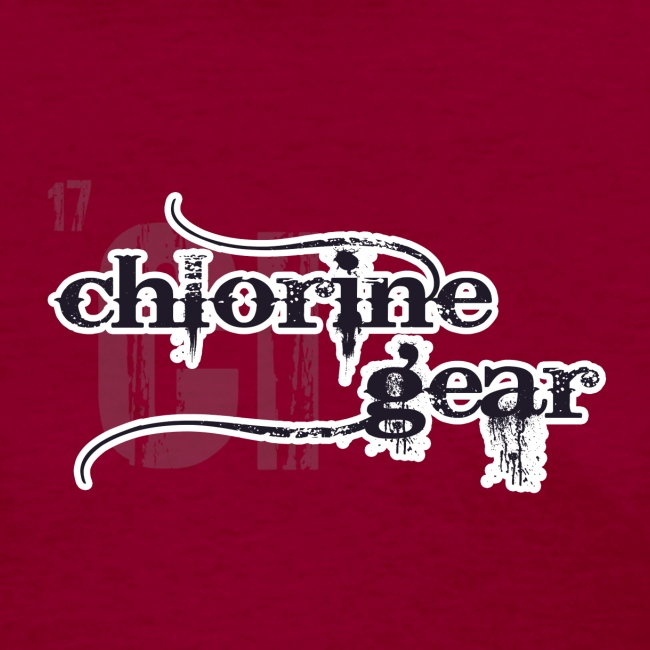 Chlorine Gear Textual stacked Periodic backdrop